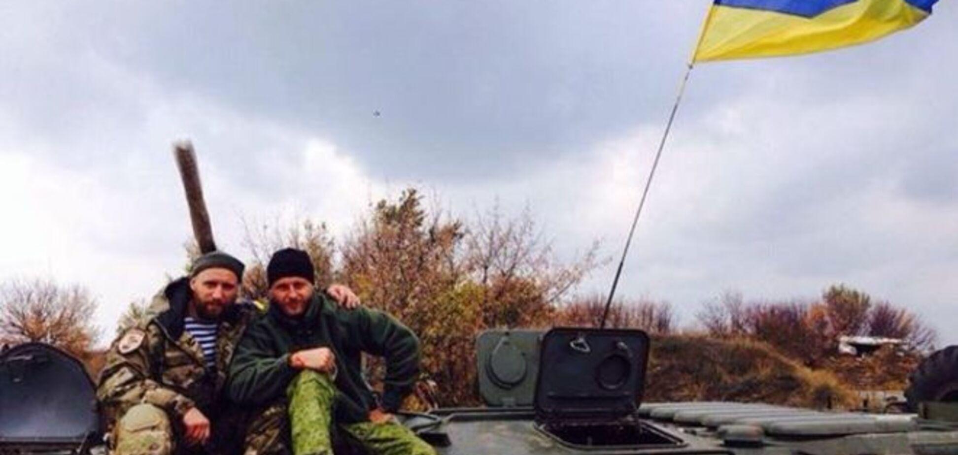 Воюющий в зоне АТО рэпер Ларсон: нам не хватает лидера