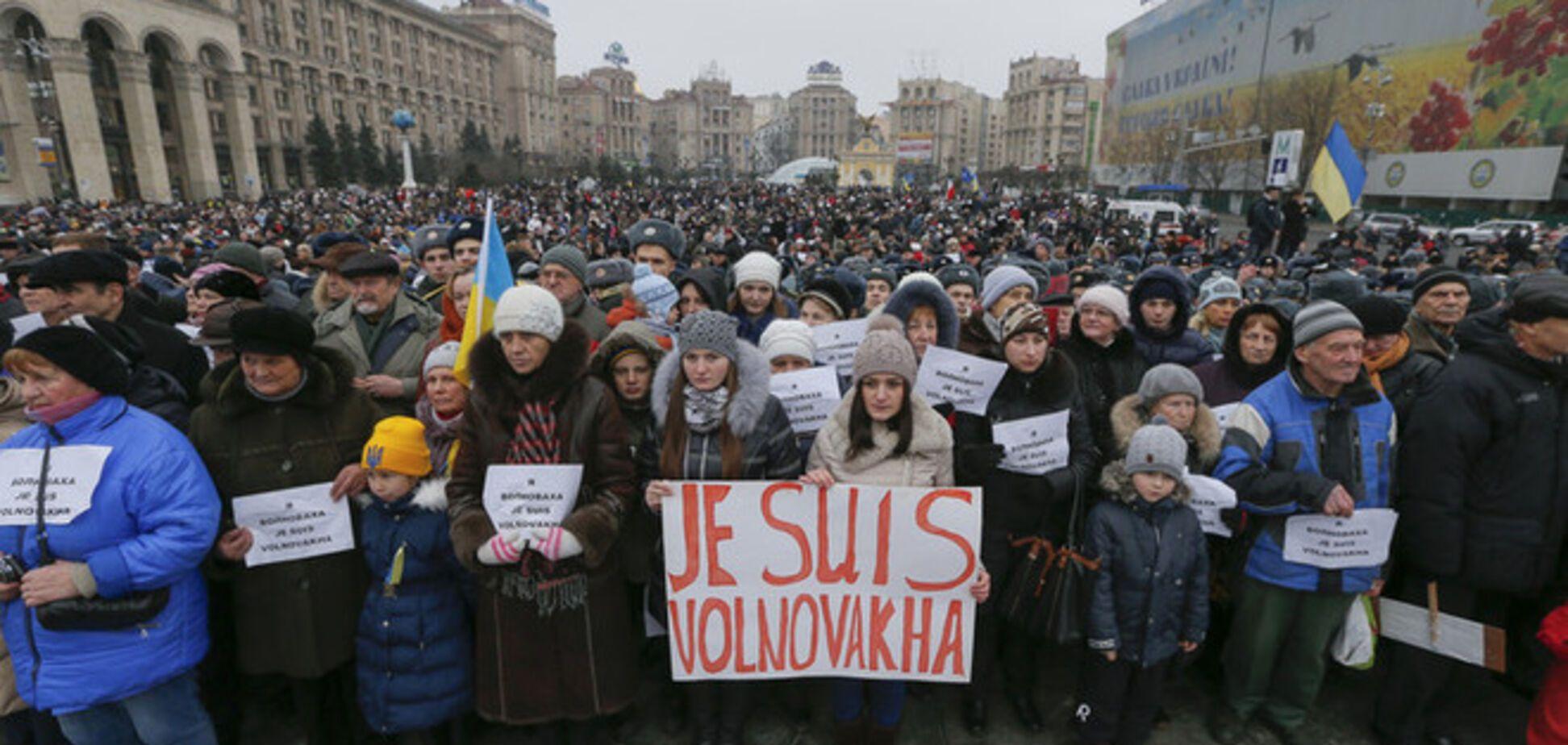 По Украине прошли масштабные Марши Мира против терроризма: опубликованы фото и видео