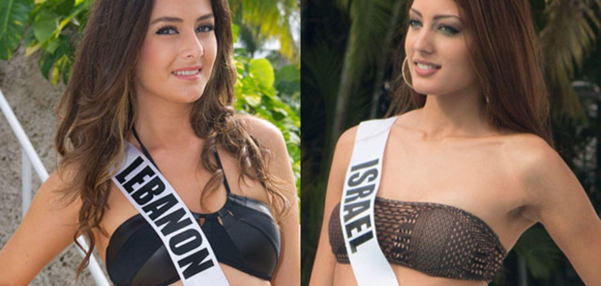 'Фотобомба' на 'Мисс Вселенная': израильтянка снялась вместе с ливанкой