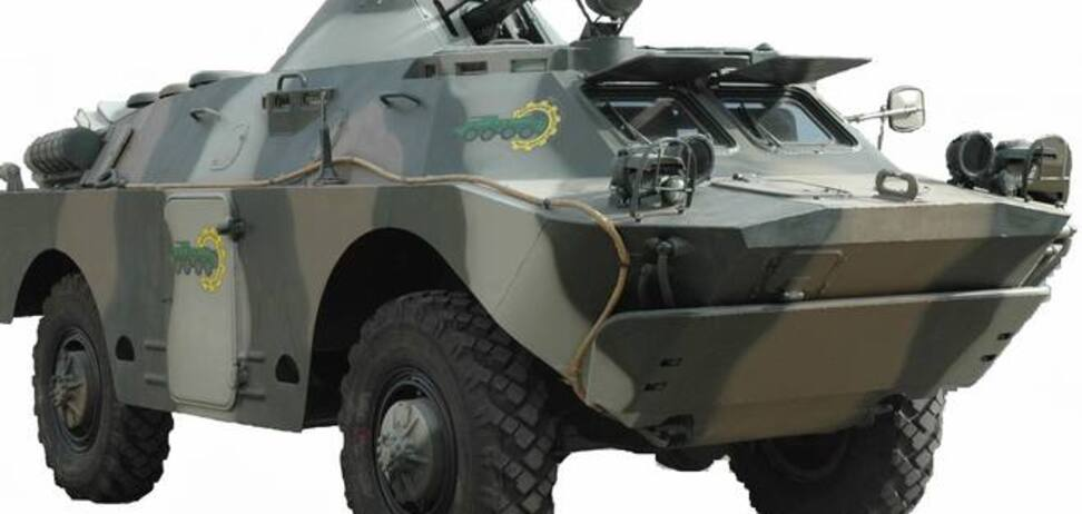 Украинская армия пересядет на броневики 'Хазар': фото новейшей техники