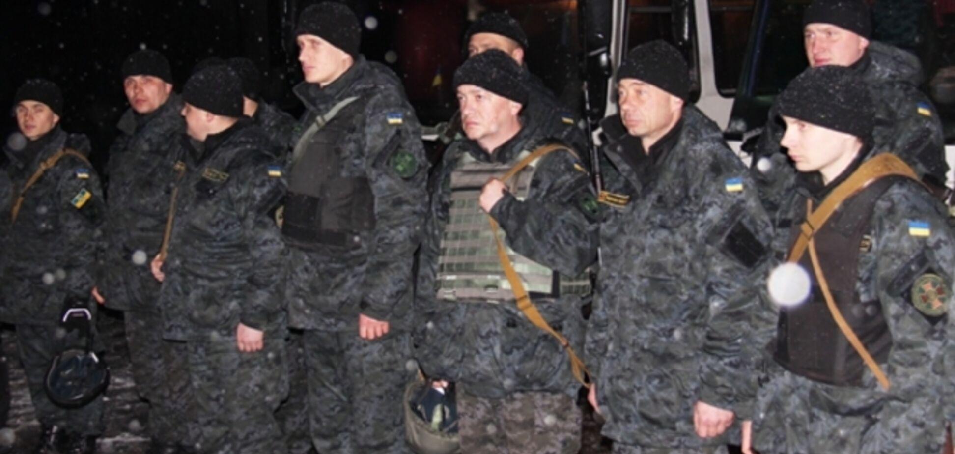 Полтысячи бойцов Нацгвардии направлены к границе с Приднестровьем