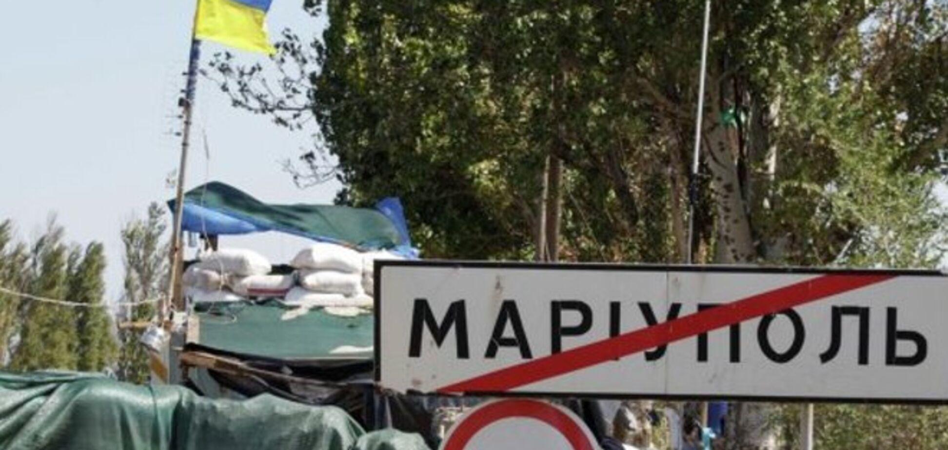 В районе Мариуполя боевики возобновили активные обстрелы – штаб АТО
