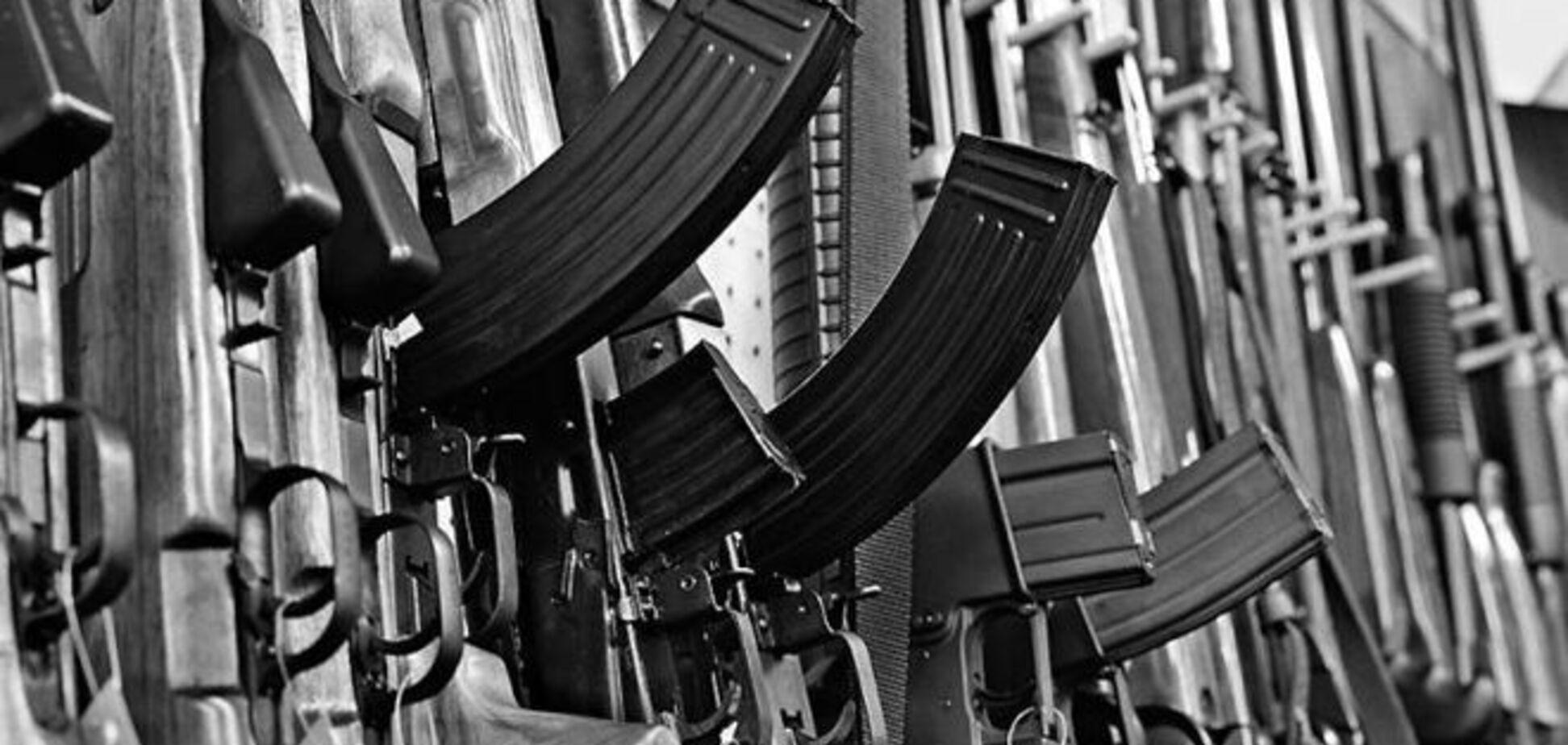 Киев заполонило нелегальное оружие из зоны АТО