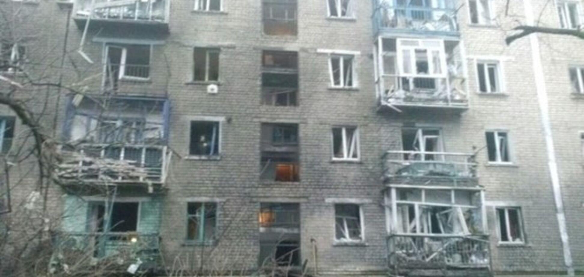 За день до обстрела Стаханова боевики предупредили горожан и объявили о бомбоубежищах