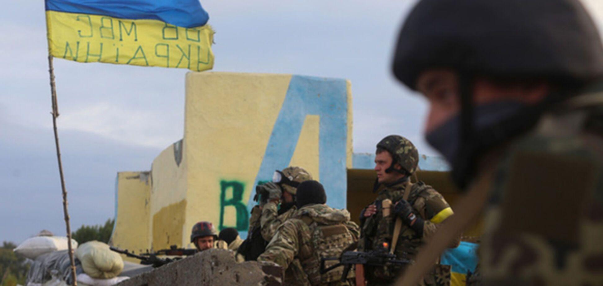 Украинские военные покинули 31-й блокпост на Луганщине, чтобы выжить – штаб АТО
