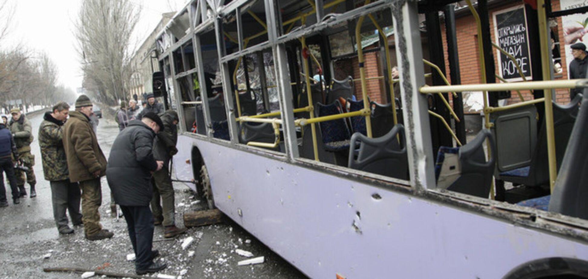 Россия может использовать обстрел остановки в Донецке для обоснования вторжения в Украину - эксперт