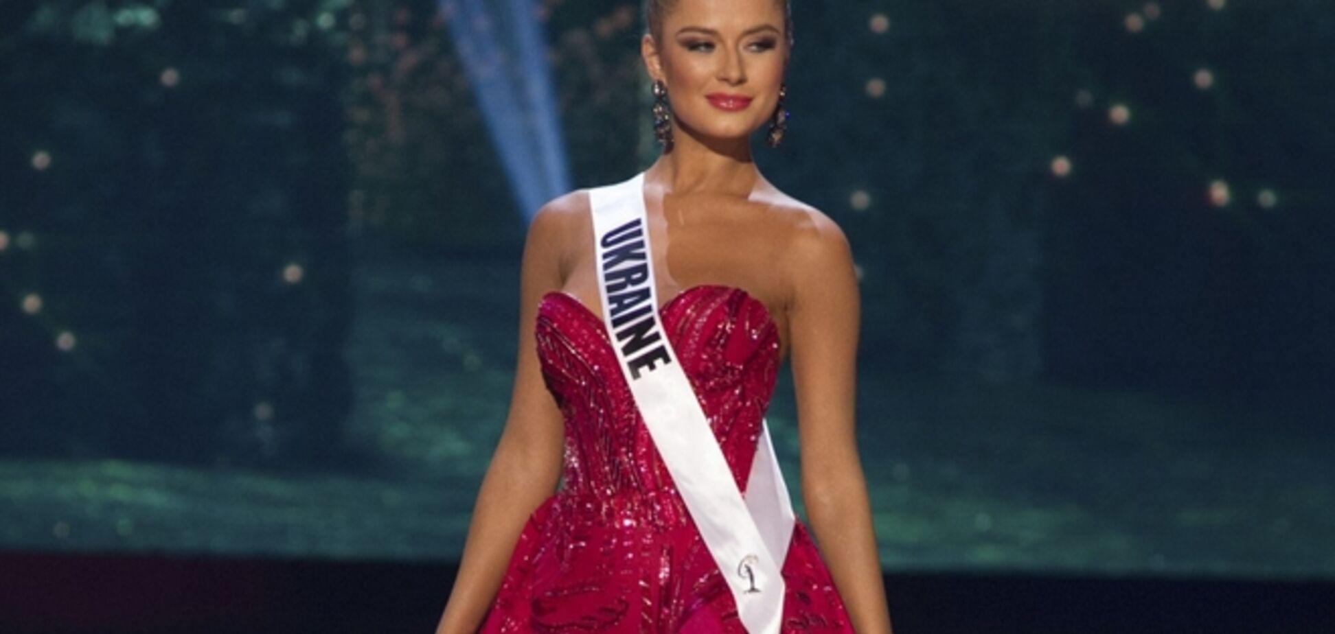 'Мисс Вселенная 2015': украинка поразила роскошным платьем и длинными ногами