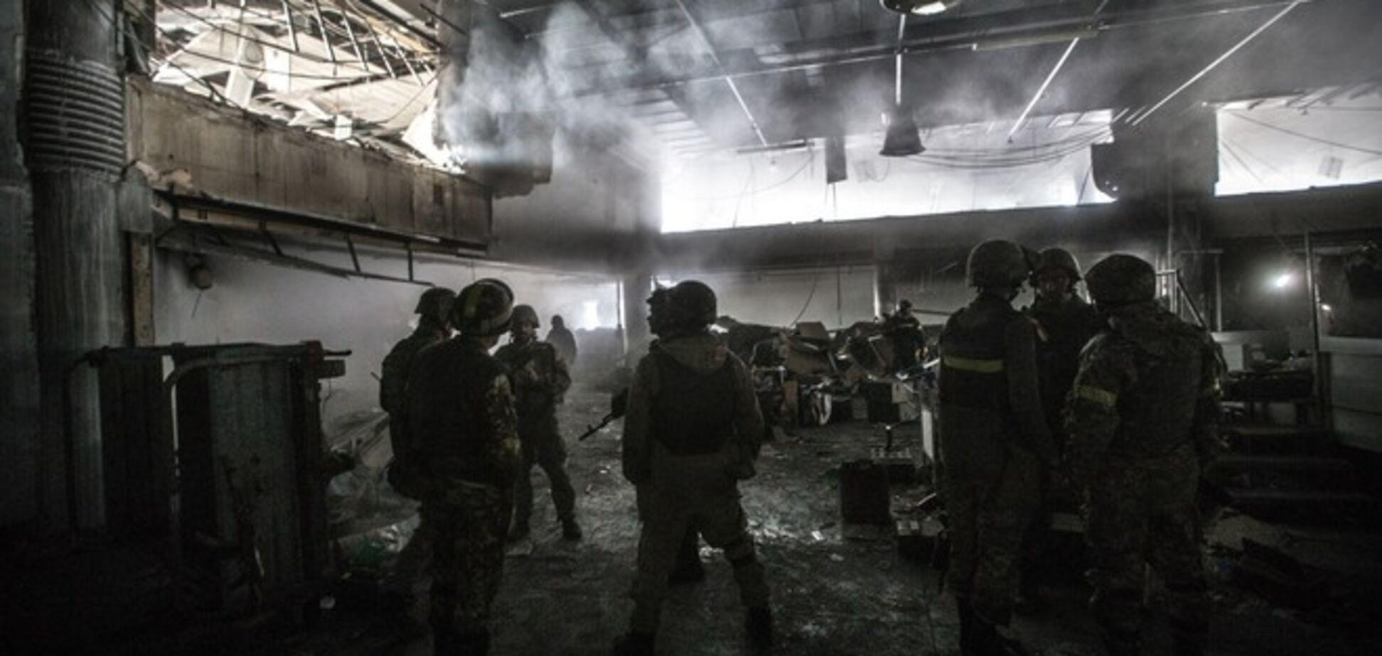 В штабе АТО и в Минобороны не подтвердили информацию об отводе сил из донецкого аэропорта
