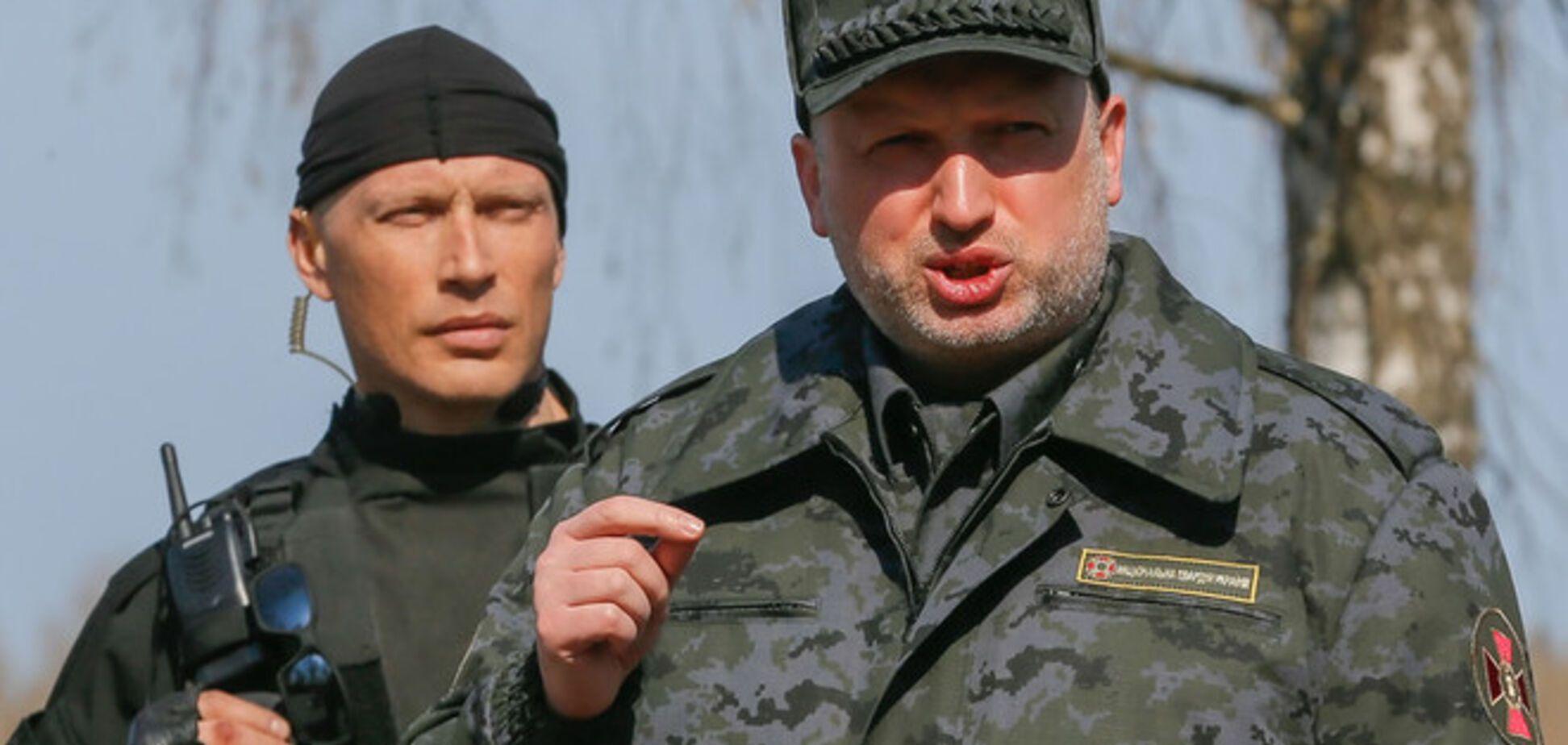 Обнародованы новые подробности обстрела Турчинова в зоне АТО