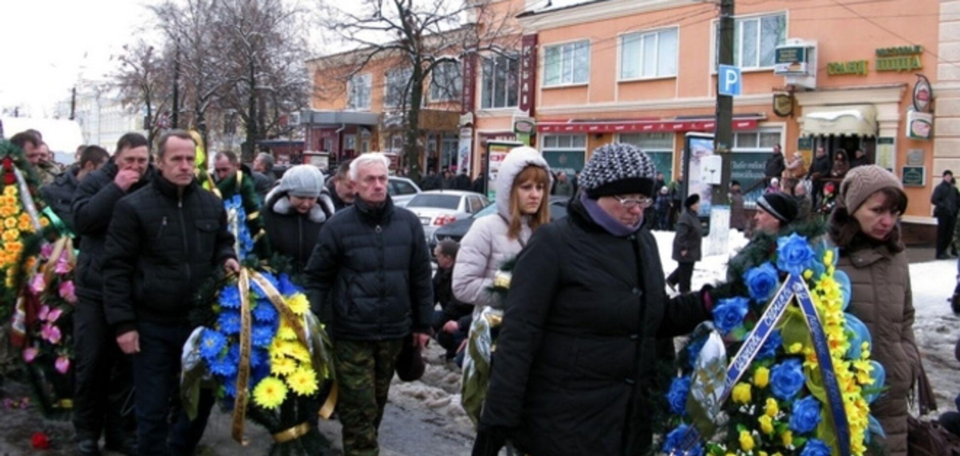 Полтавщина попрощалась с бойцом АТО, за голову которого обещали $450 тыс.: опубликованы фото и видео