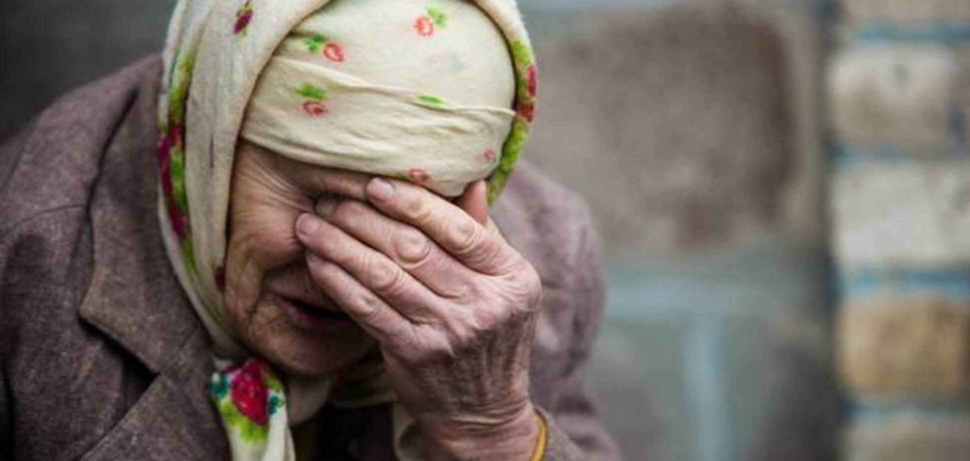 На Луганщине снаряд влетел в дом престарелых: около 60 одиноких стариков в шоковом состоянии