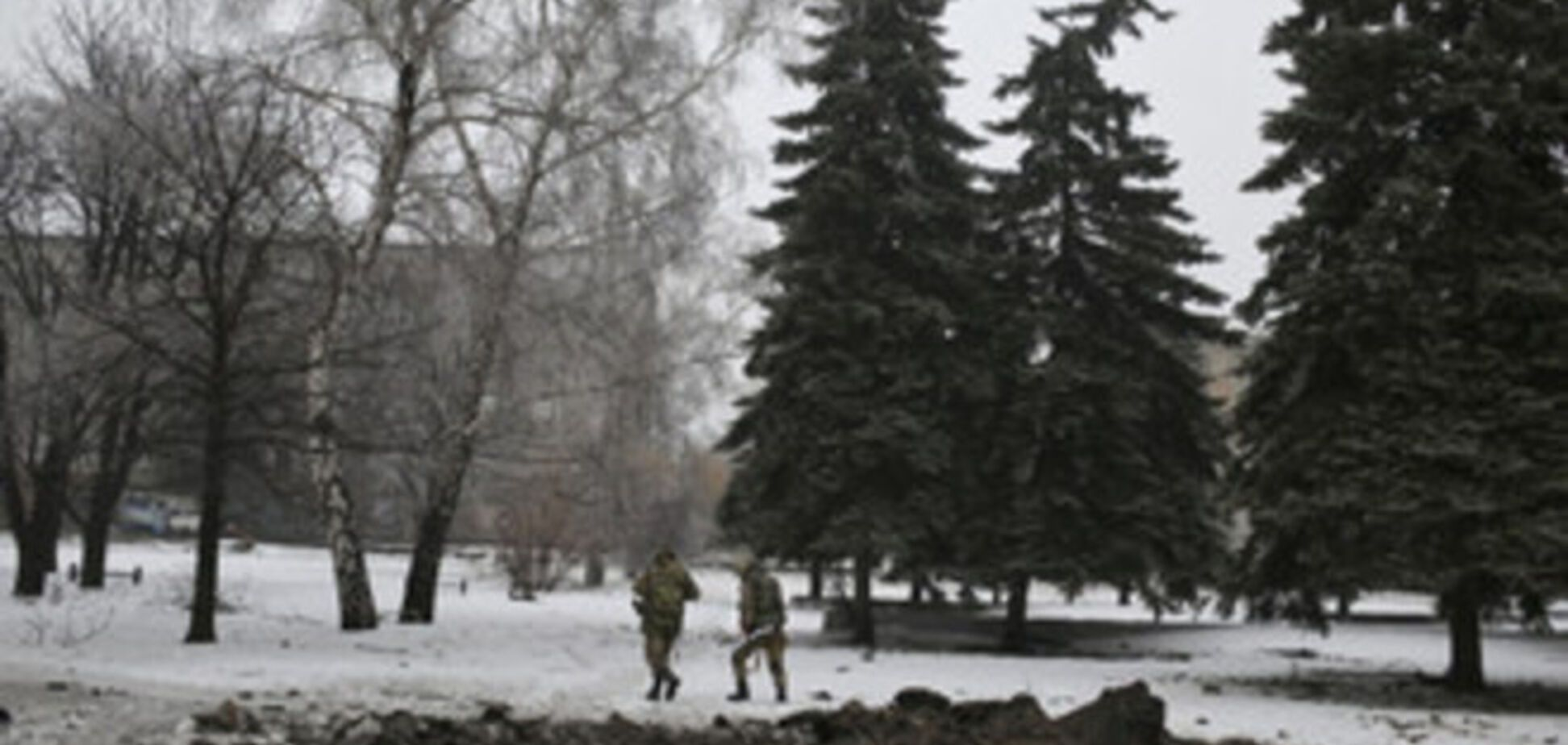Террористы после неудачной атаки в районе Дебальцево 'забыли' на поле боя танк