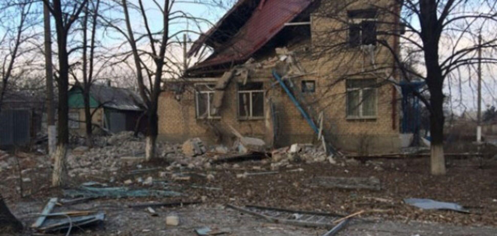 При артобстреле Дебальцево погиб мужчина. В городе нет света, воды и тепла
