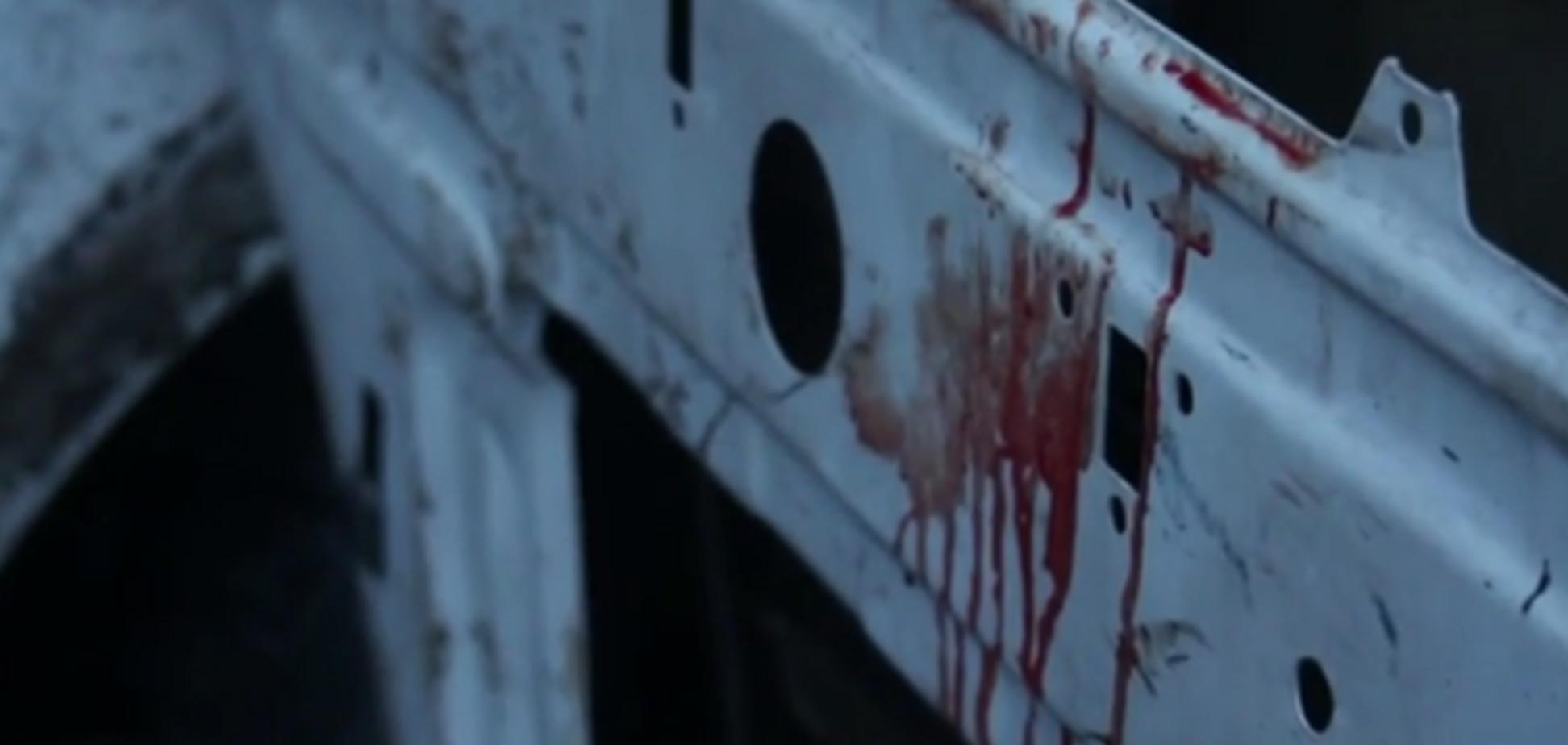 Свидетель ранения Яроша считает, что нардепа спасло чудо: это было прямое попадание из 'Града', от машины ничего не осталось