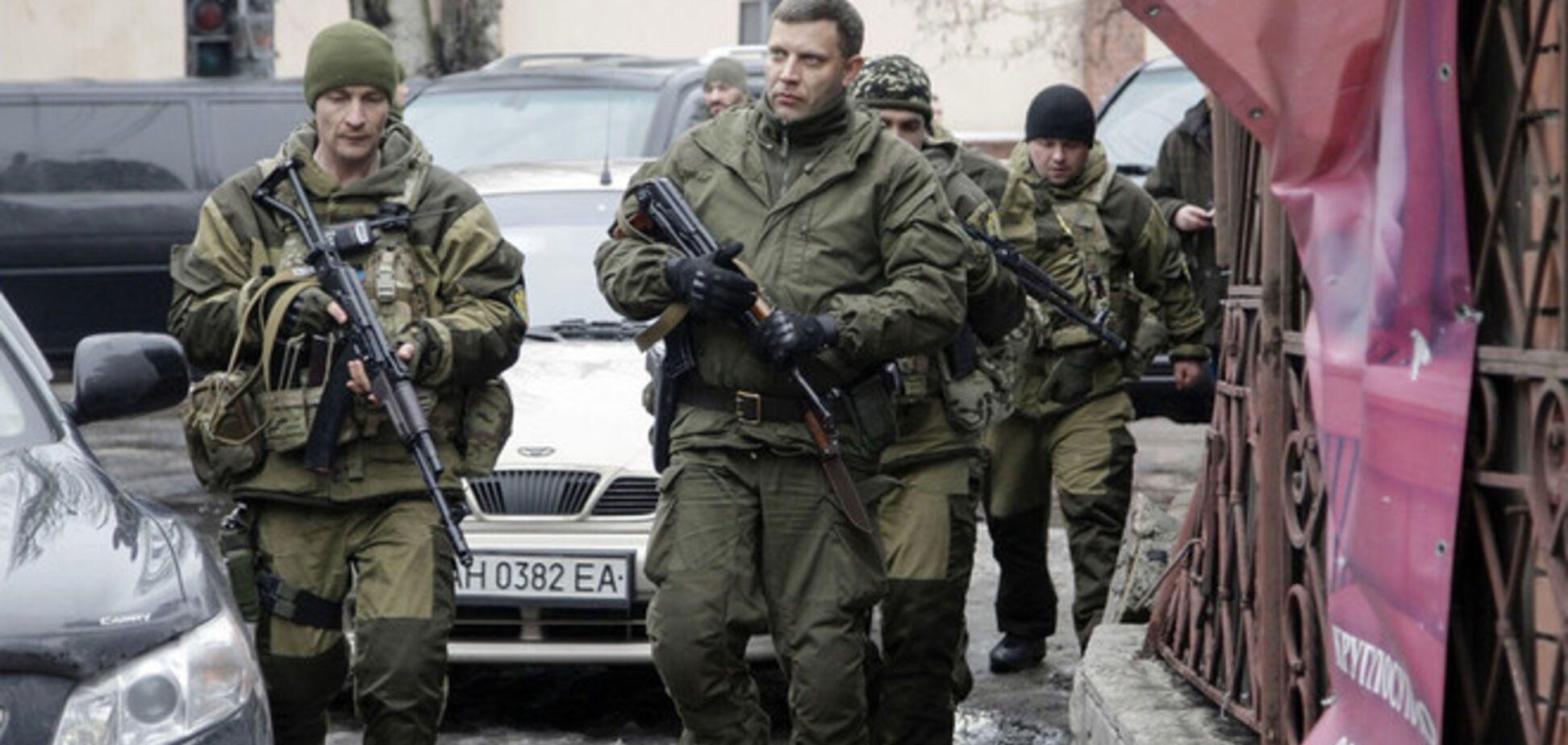 Ватажок 'ДНР' більше не має наміру розмовляти про перемир'я