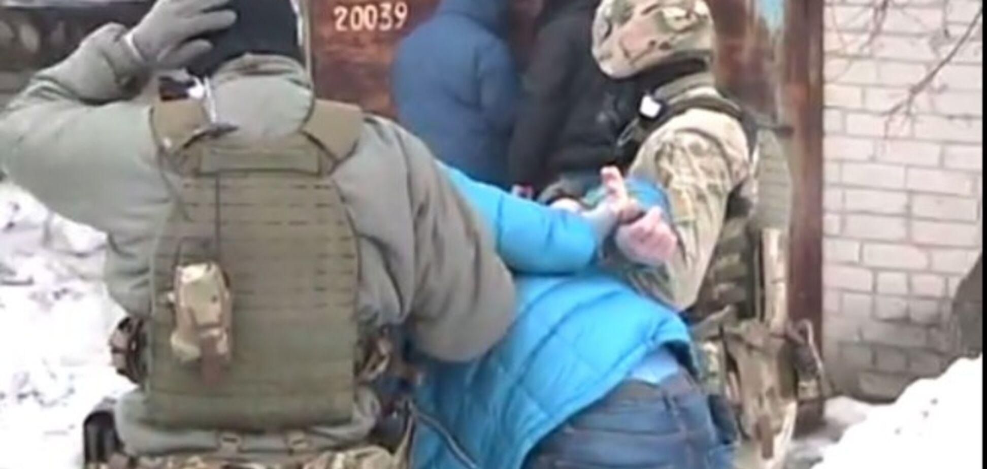 На Харьковщине задержан террорист 'Оплота' из зоны АТО: опубликовано видео