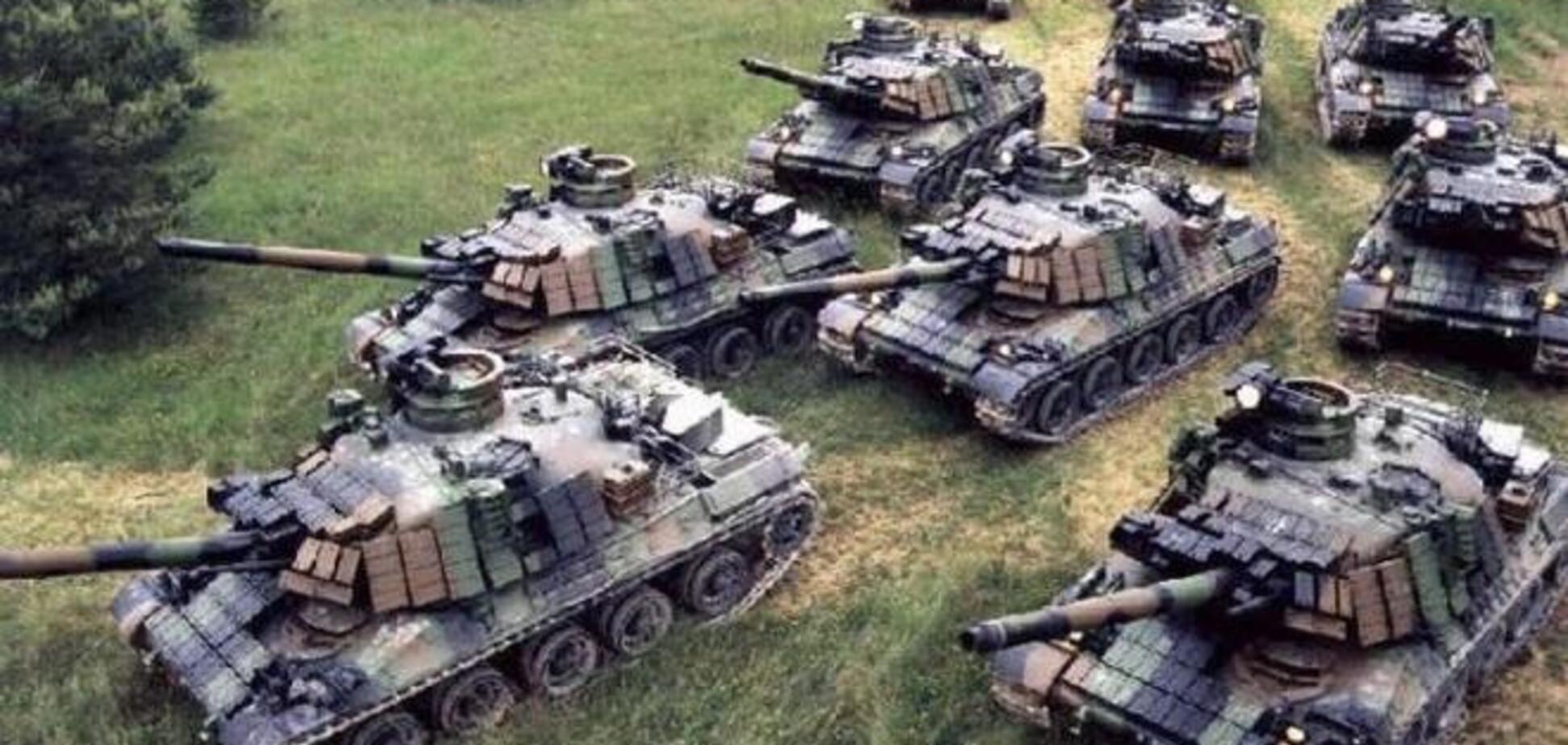 Боевиков 'ЛНР' и 'ДНР' за сутки усилили около 40 танками и более 60 единицами бронетехники