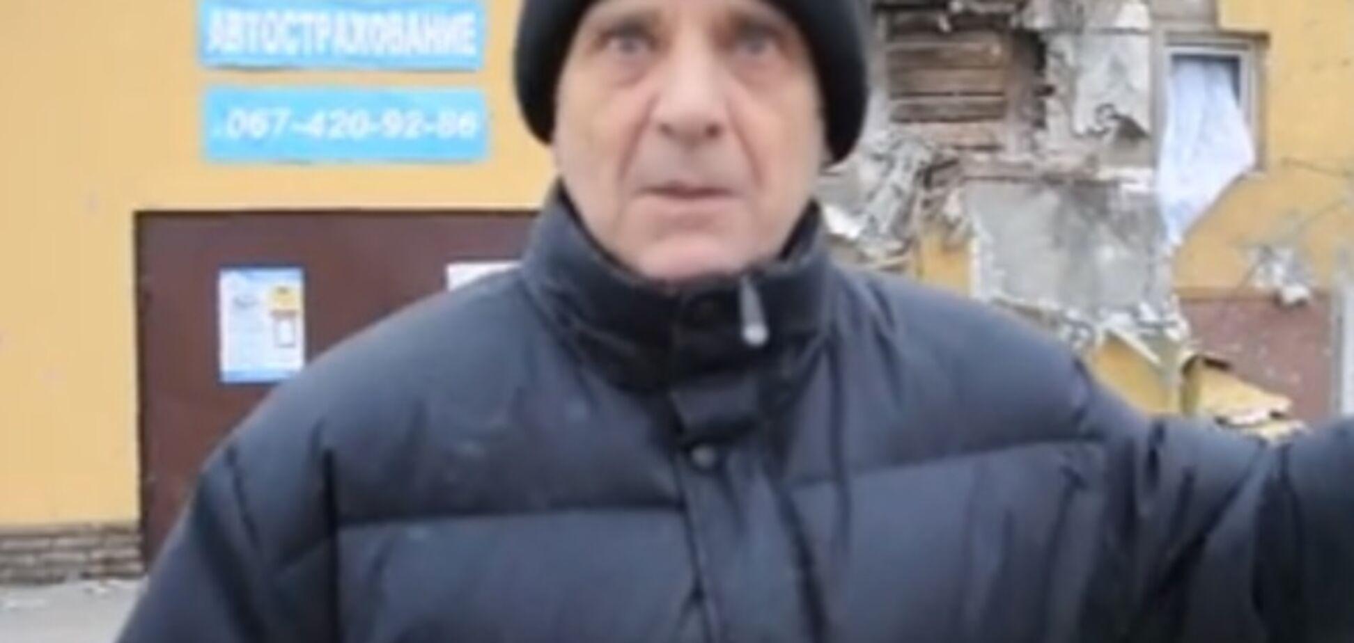 Мариуполь обстреливали российские войска - очевидец. Опубликовано видео