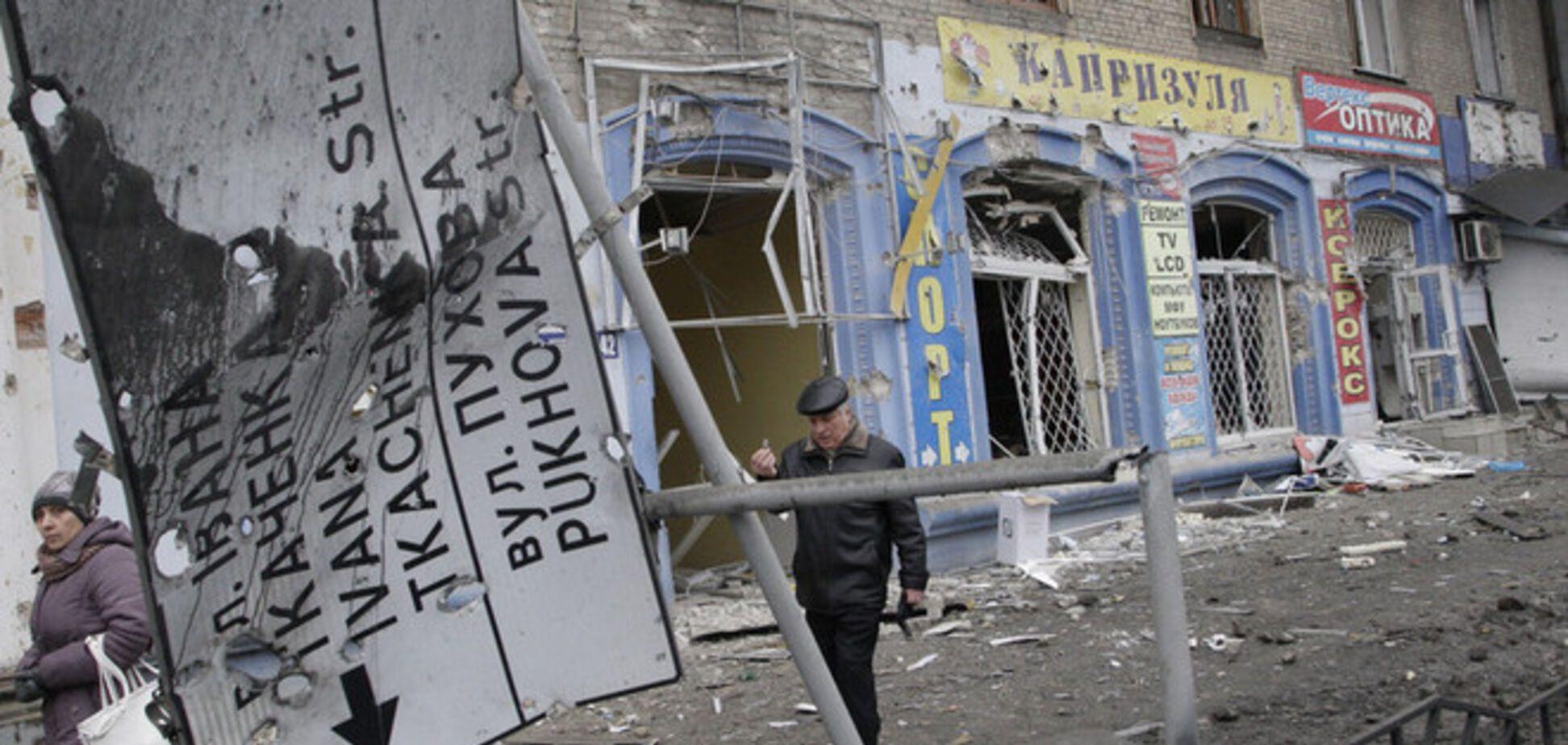 Террористы продолжают атаки на бойцов АТО и населенные пункты на Донбассе