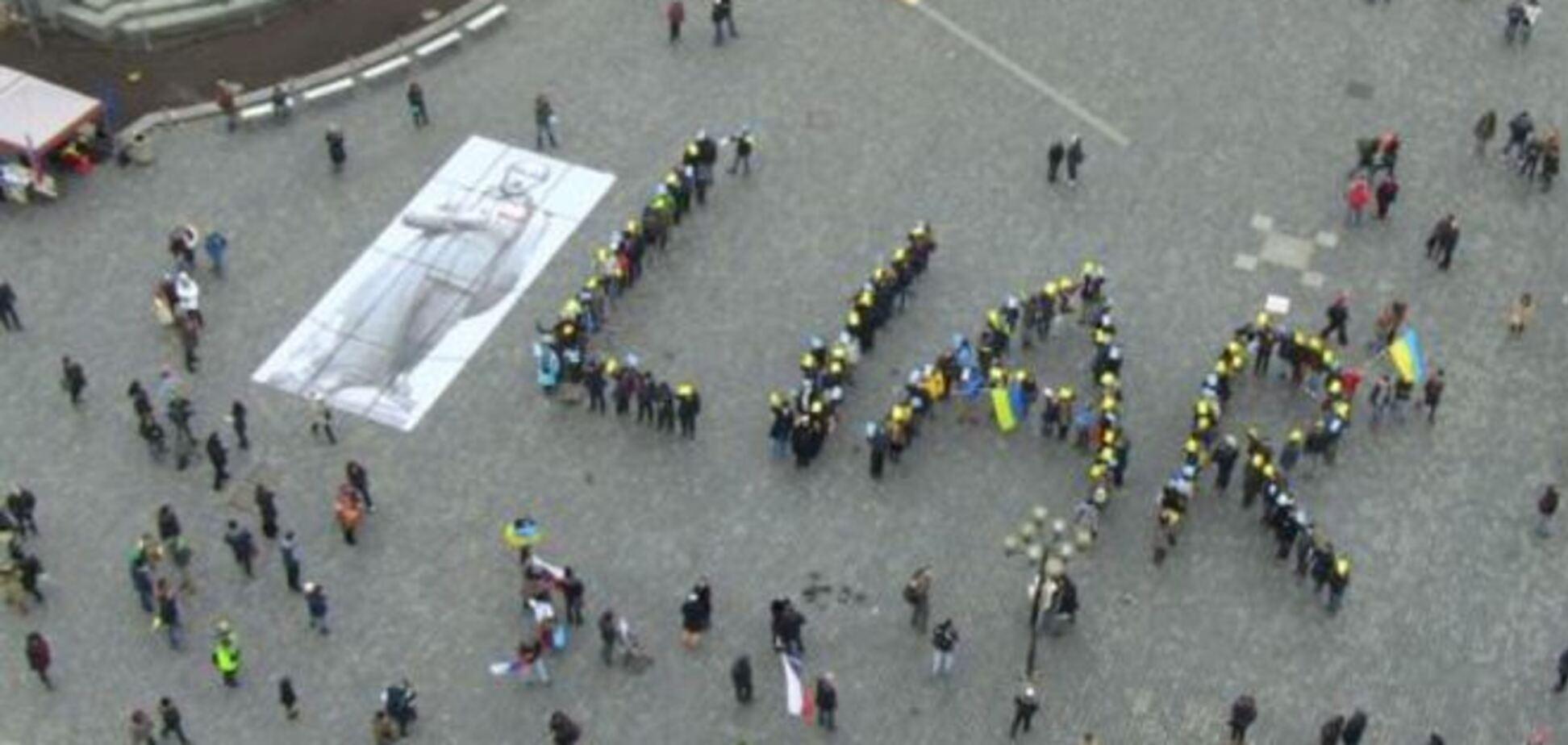 Путин – лжец! В Праге протестовали против российской агрессии в отношении Украины: фото и видео акции