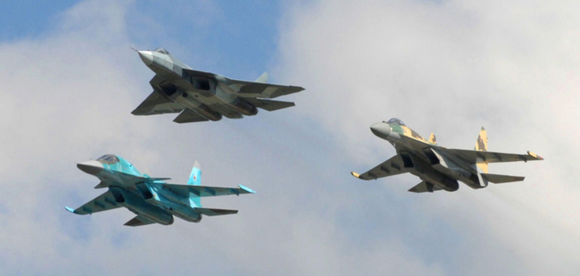 Вблизи границы Украины зафиксировали военную авиацию ВС России