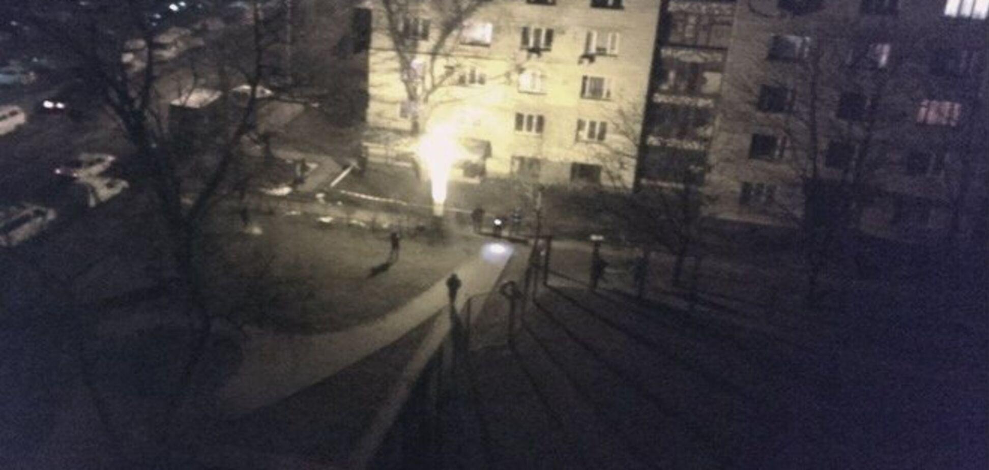 Взрыв ночью в Киеве устроил пьяный мужчина