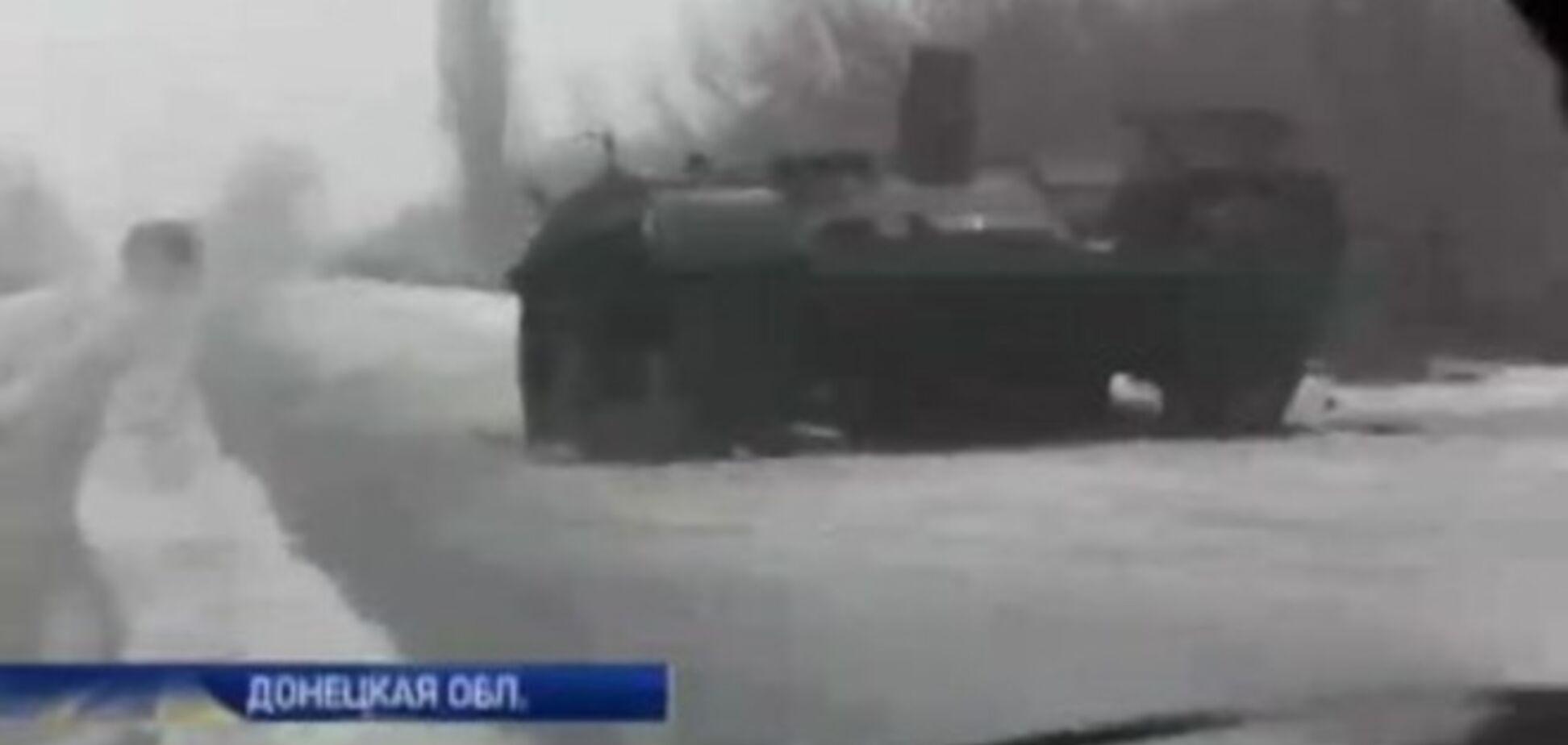 Раненый в зоне АТО украинский журналист показал эксклюзивные кадры с передовой. Видеофакт