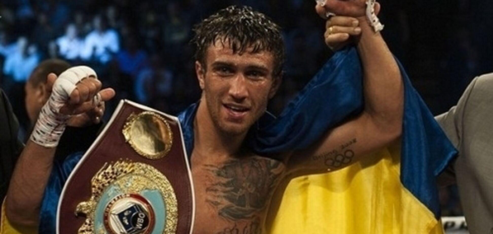 Ломаченко назван лучшим боксером мира