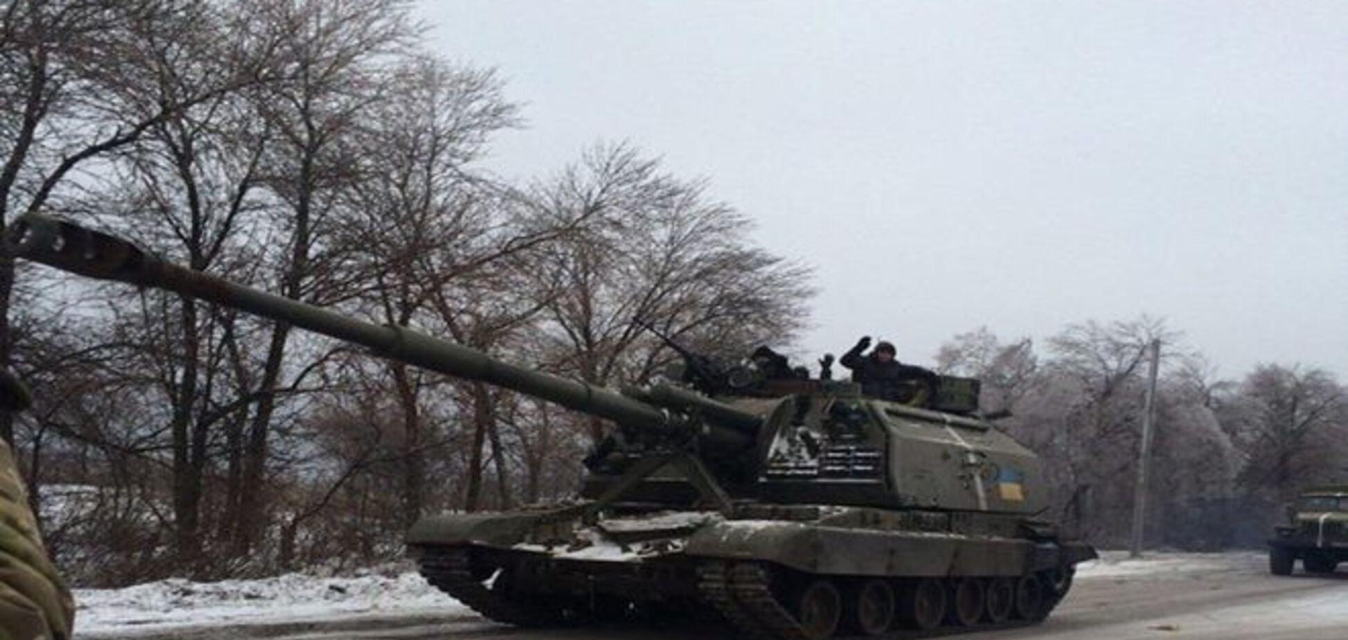 Украинский боец сообщил о прибывшем подкреплении в район Дебальцево