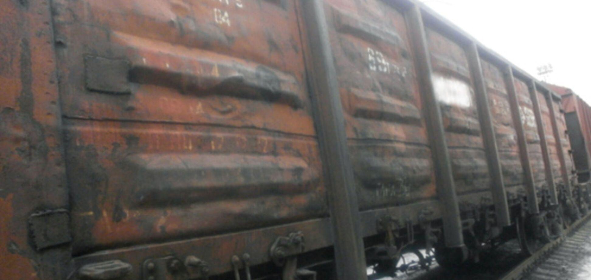 Милиция задержала 37 вагонов 'экспортного' угля из оккупированного Тореза