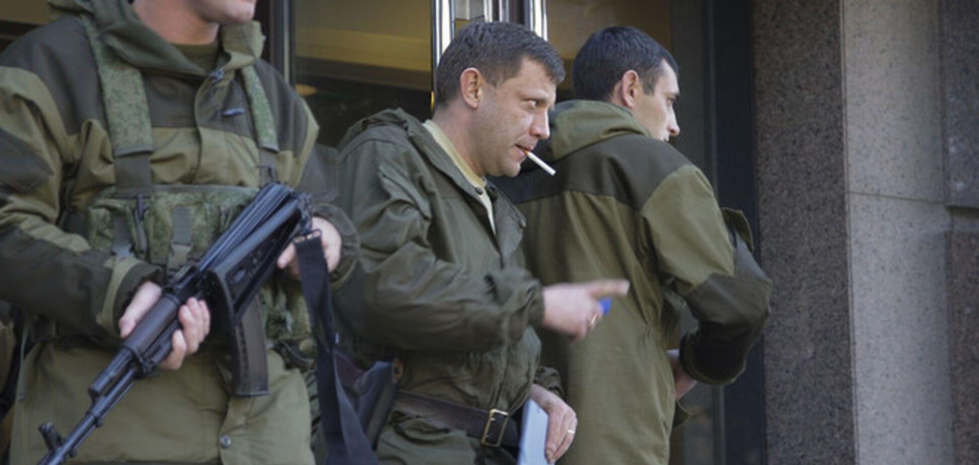 Главарь 'ДНР' боится участвовать в переговорах в Минске: 'Как я туда поеду, если я в международном розыске?'