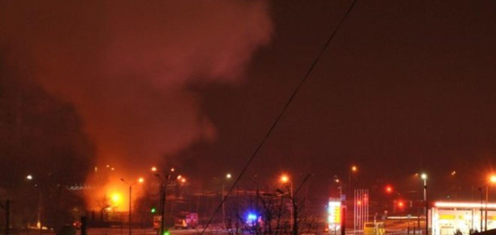 Ночью в Киеве подожгли церковь УПЦ МП