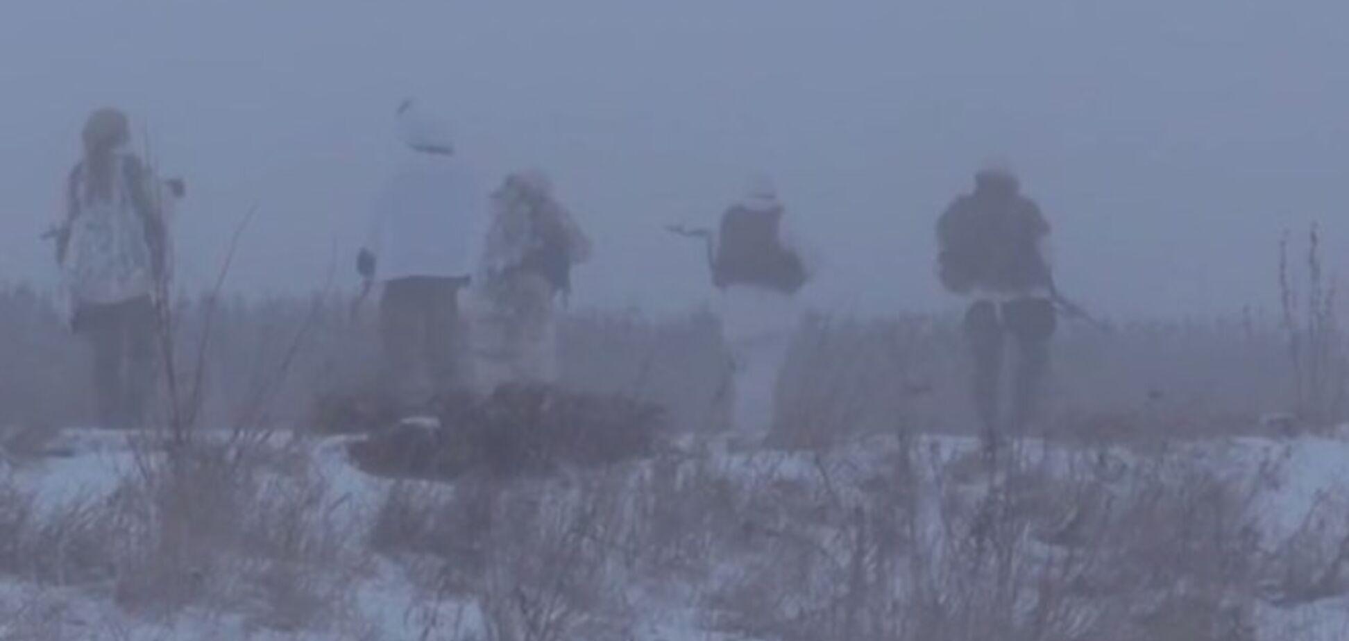 Боец АТО показала работу разведки 'Правого сектора': опубликовано видео