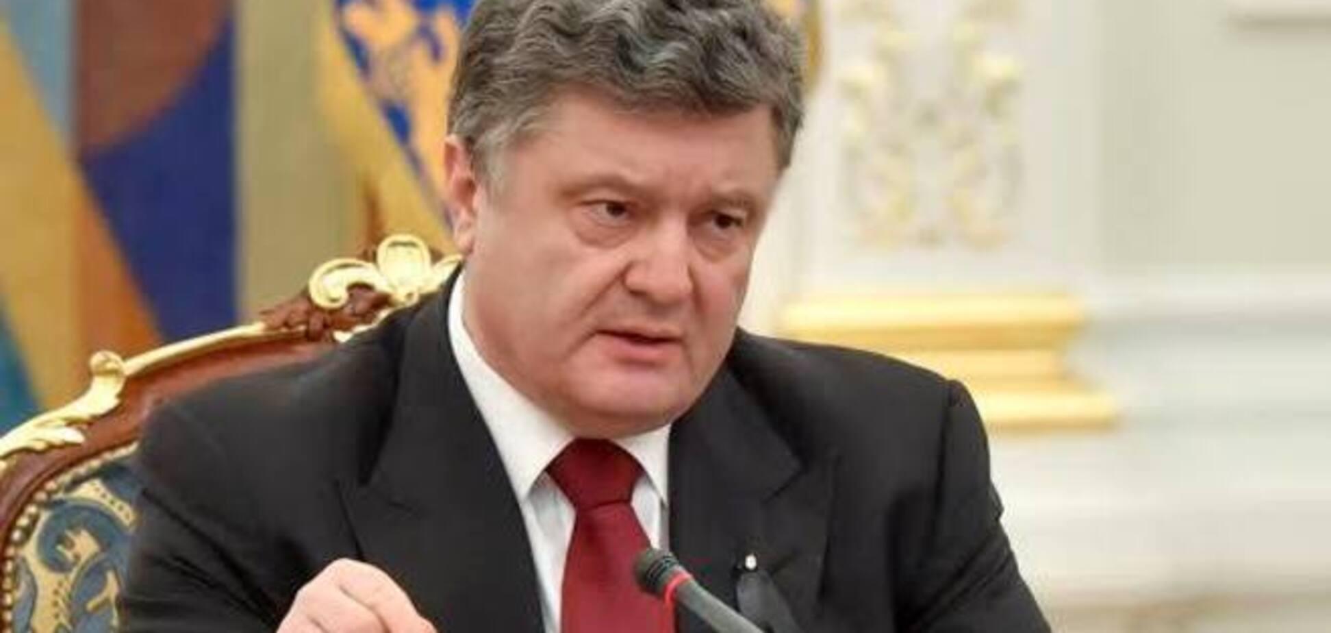 'Аппетиты агрессора превосходят размеры Украины': Порошенко предупредил об угрозе континентальной войны