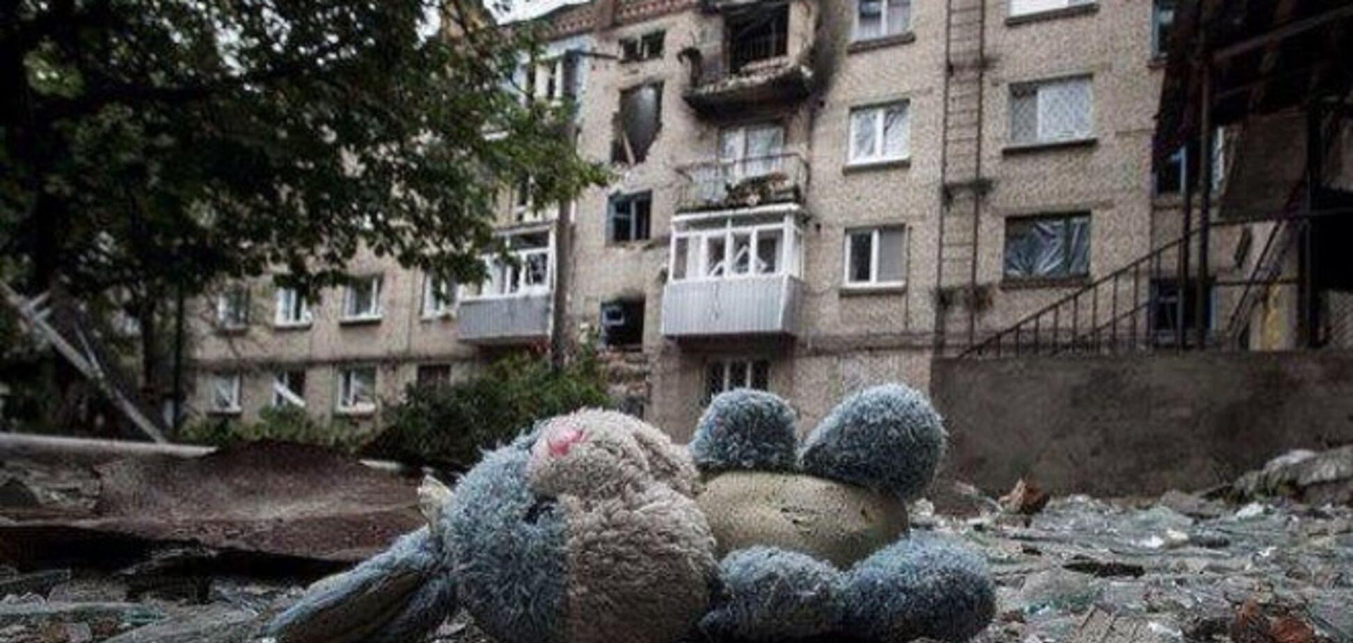 60 детей были убиты за время вооруженного конфликта на Донбассе