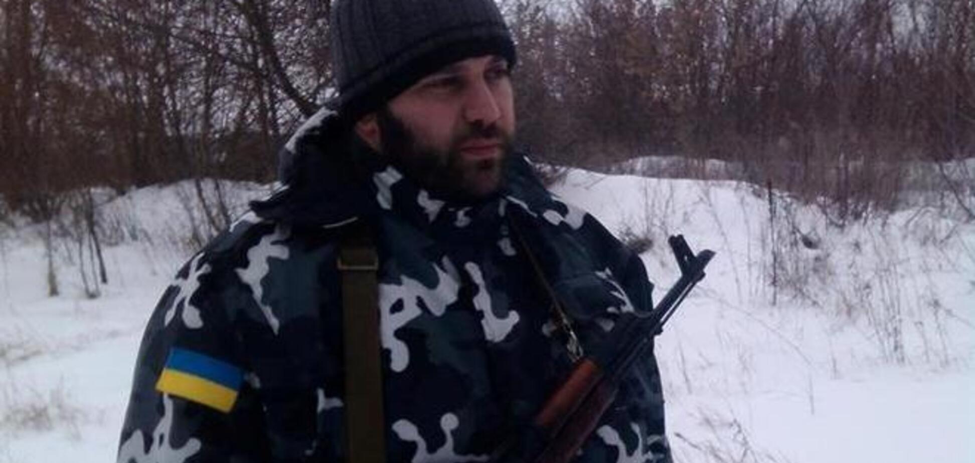 Грузинский боец АТО: боевики бьют по своим, чтобы показать, как 'украинская армия бомбит население'