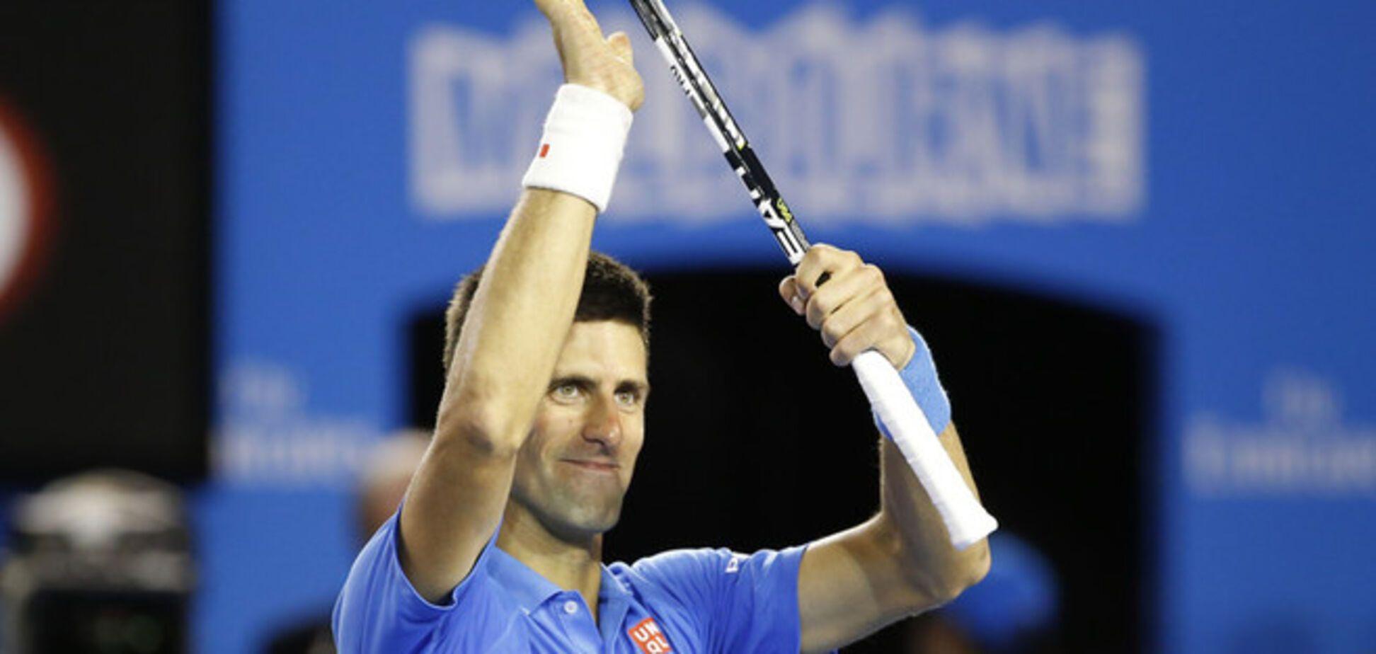 Лучший теннисист мира феерически вышел в полуфинал Australian Open