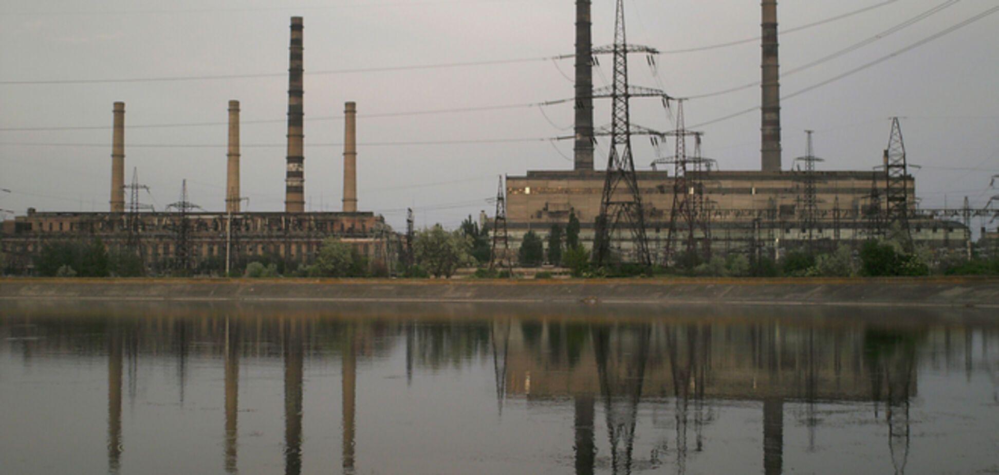 Мироновскую ТЭС останавливают из-за боевых действий