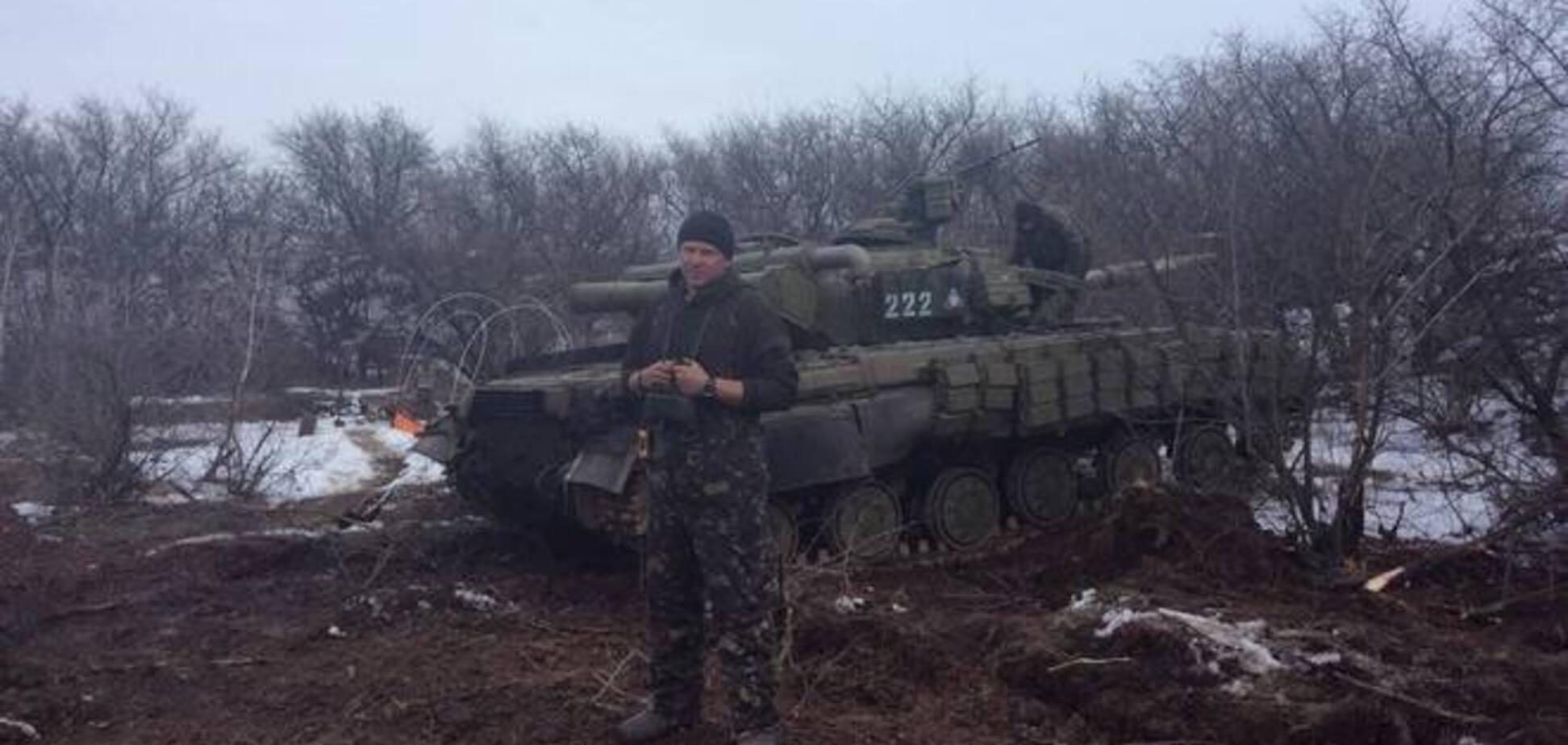 Бойцы показали 'отжатую' у россиян под Дебальцево технику: теперь пусть за нас повоюет
