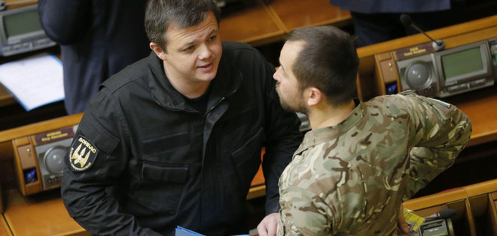 Бывший боец 'Донбасса': Семенченко присвоил себе полномочия государства