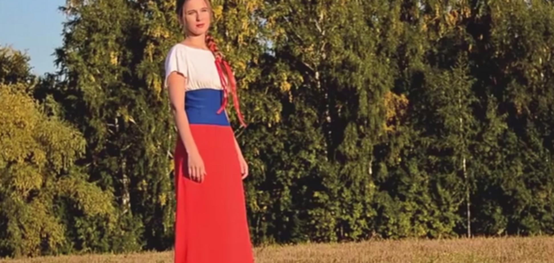 Відео 'Мій Путін' стало відповіддю російської співачки на санкції Заходу