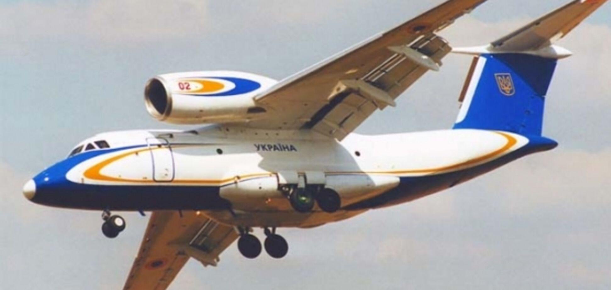 Нацгвардия получила патрульный самолет Ан-72