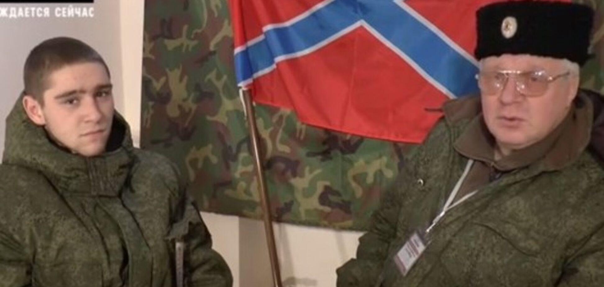 Террористы рассказали слезливую историю о батальоне 'малолеток', которые умирают за 'Новороссию': видеофакт