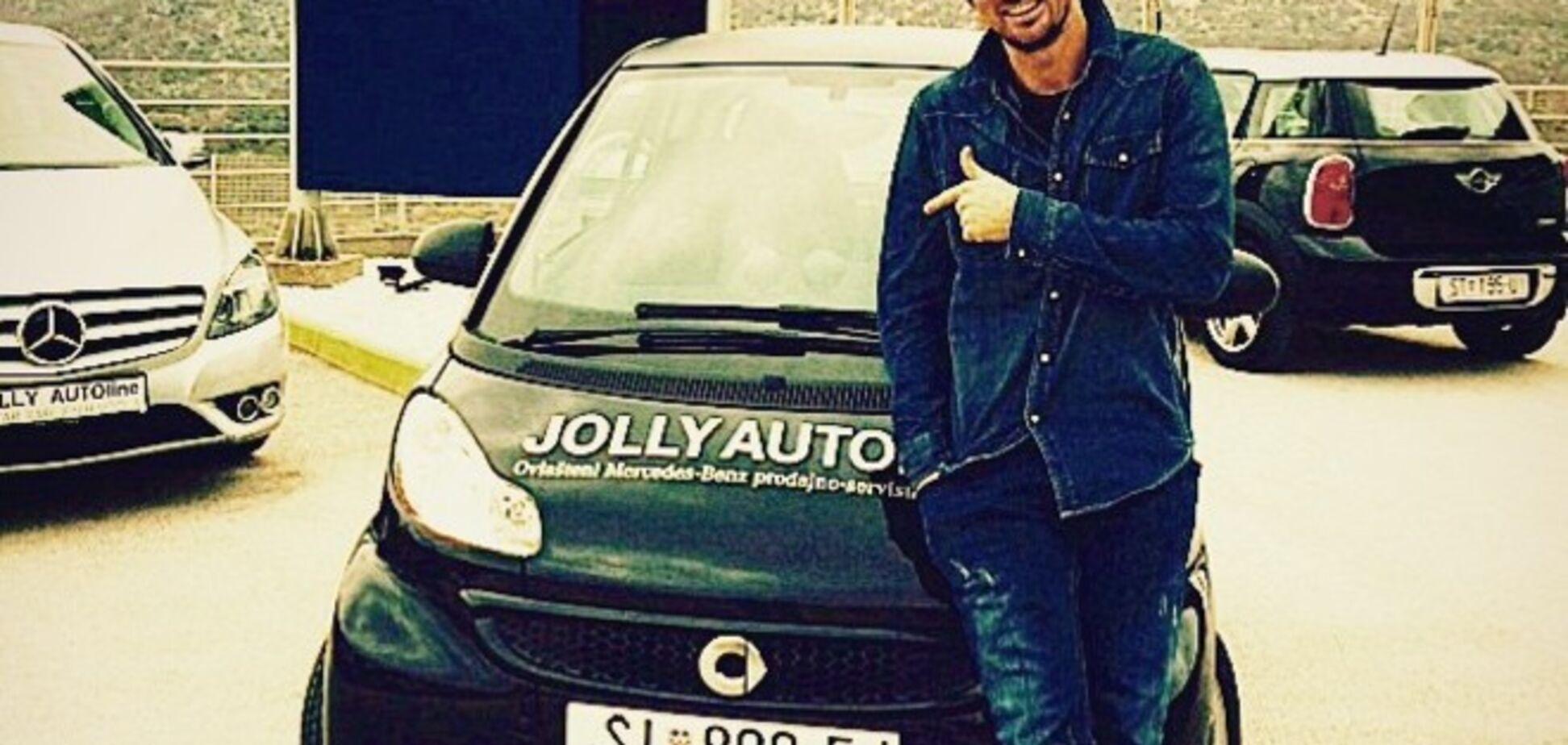 Хорваты подарили Милевскому машину для 'гномов'