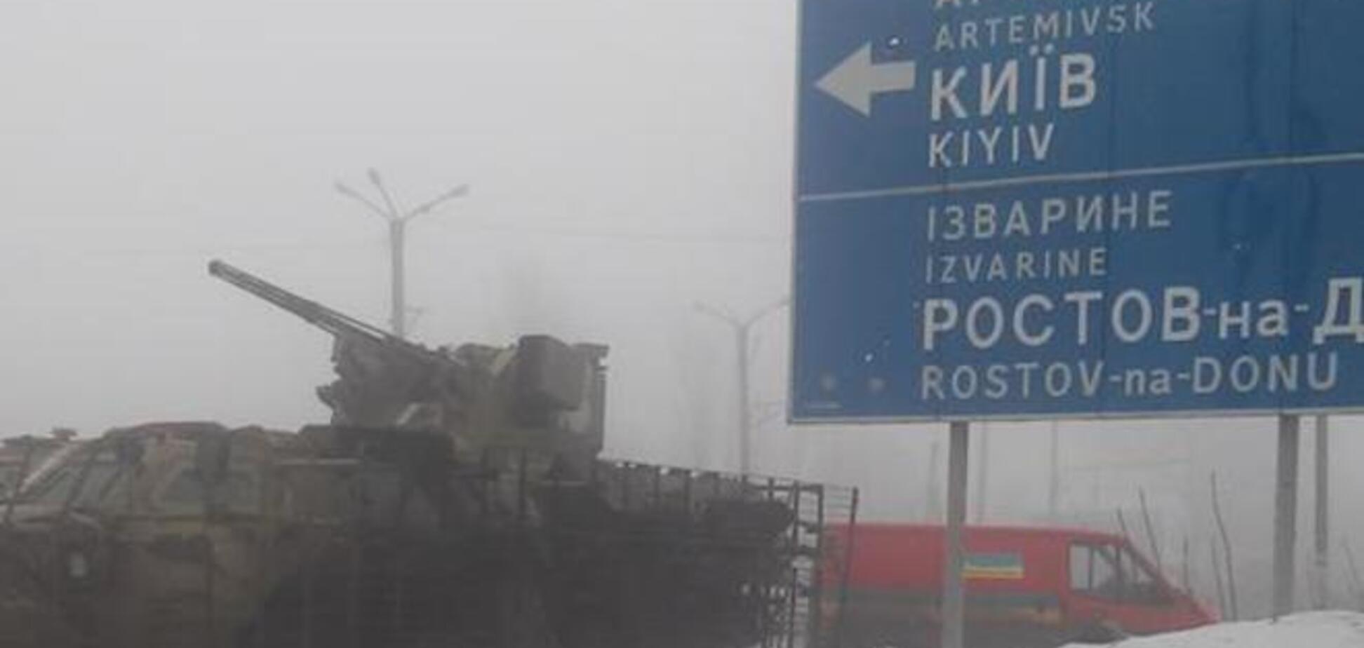 Семенченко: по Дебальцево лупят адепты 'русского мира', в Углегорске шабаш и окруженные хлопцы