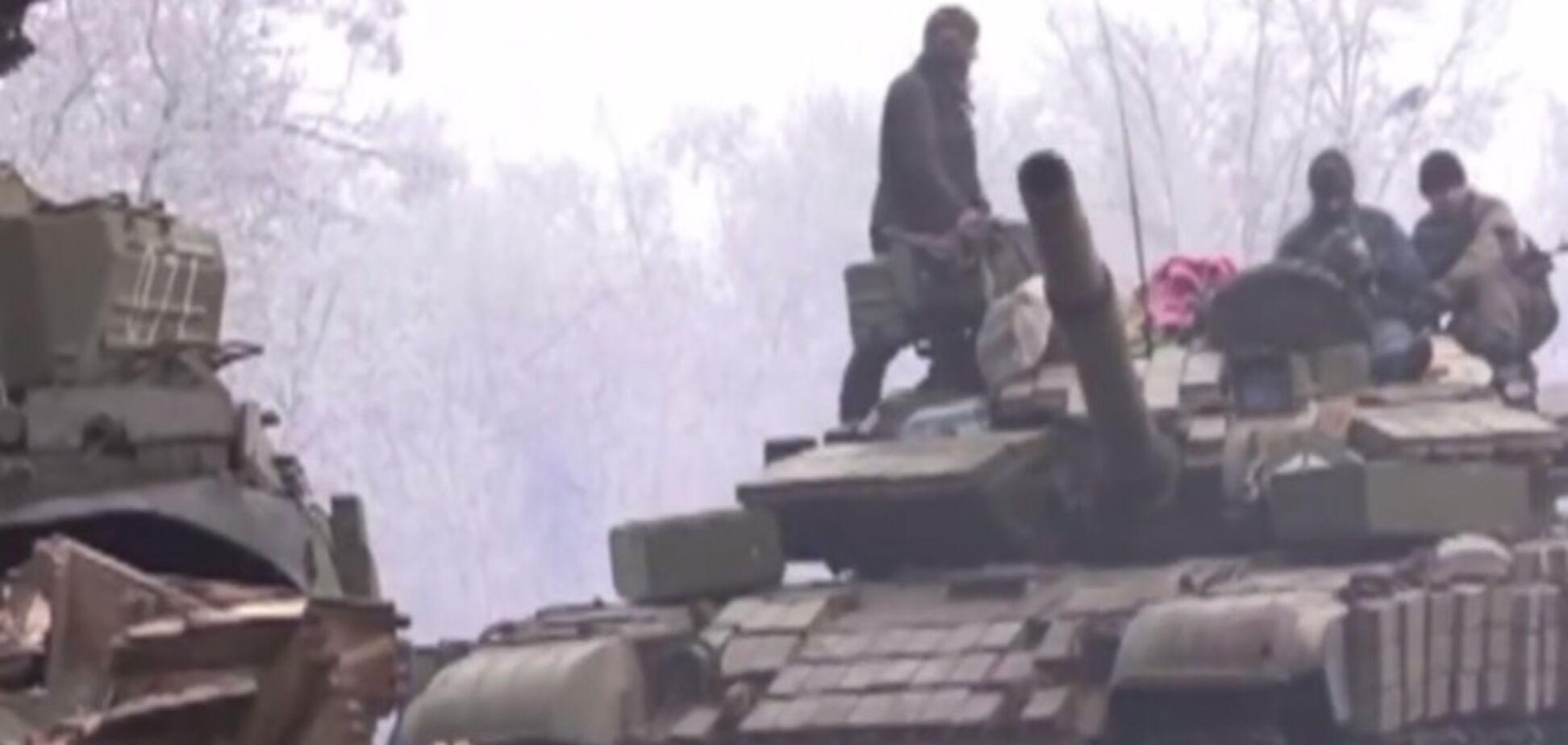 Углегорск в огне: обнародовано видео ожесточенных боев за город