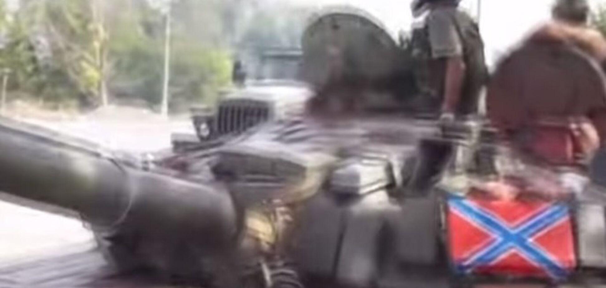 Эксперты показали основные виды российской бронетехники на Донбассе: видеодоказательства