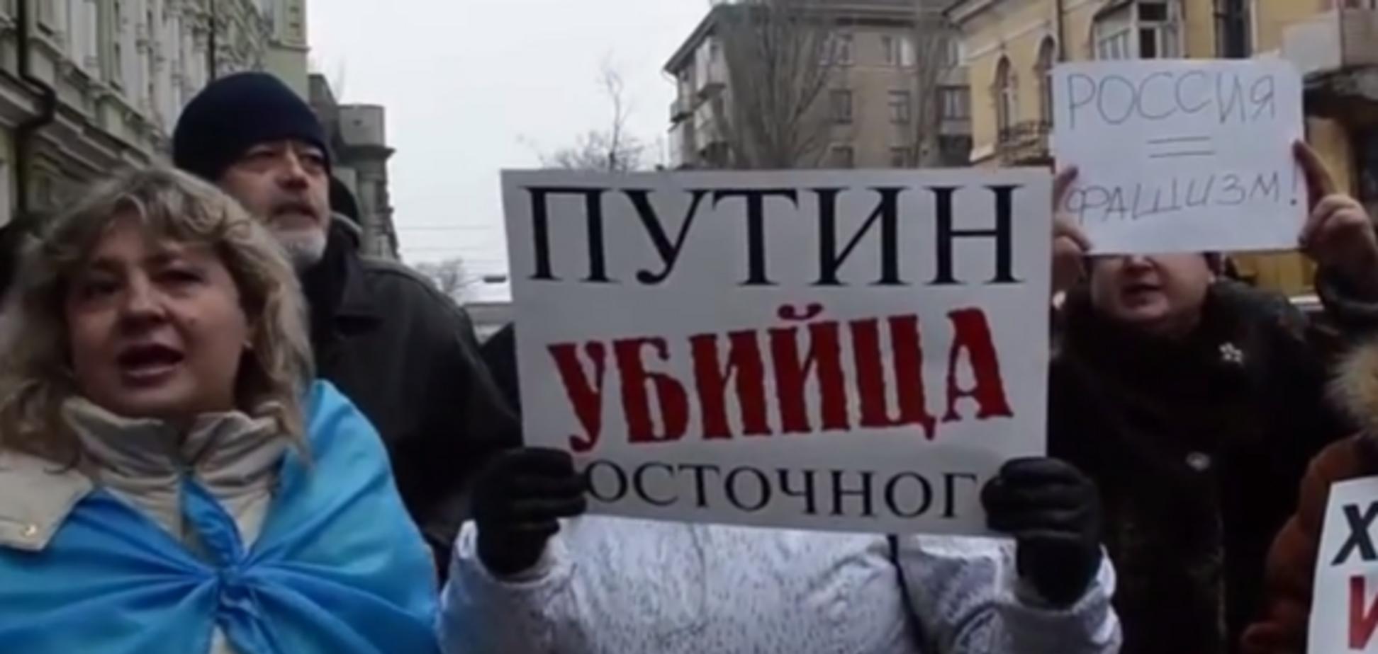Эмоциональное видео из Мариуполя: зачем в наш город лезет эта 'ДНР'?