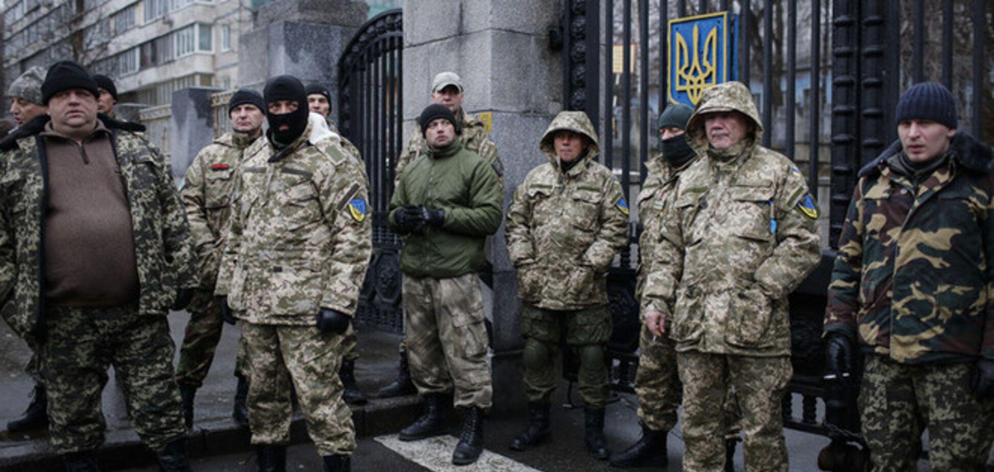 В Киеве на митинге похитили бойца батальона 'Айдар'