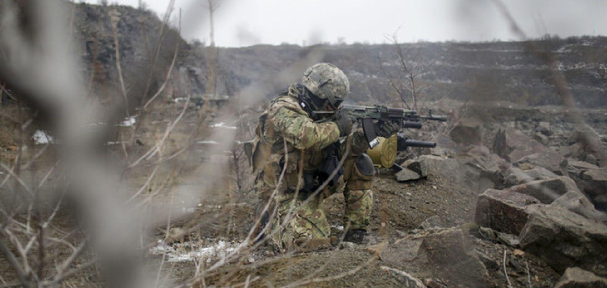 Силы АТО ликвидировали пять террористов и танк под Мариуполем